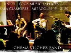 El compositor y guitarrista Chéma Vílchez presenta UNITY Yoga Music Experience en la Sala Clamores