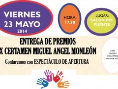 Entrega de premios del IX Certámen Miguel Ángel Monleón de Talamanca de Jarama