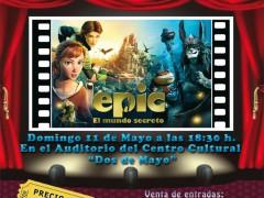 Cine, teatro y Encuentro con Autor, en Fuente el Saz