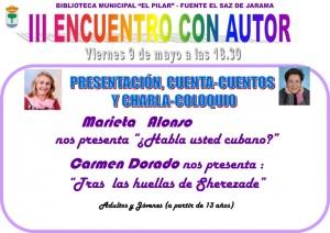 Cartel Encuentro Autor.pub