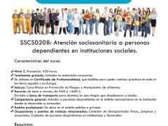 Aula de Formación Profesional de Uceda: Curso de atención sociosanitaria 2017