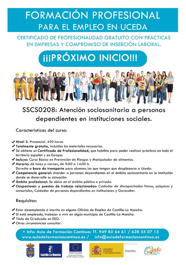 curso atencion sociosanitaria uceda 2017