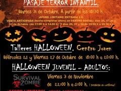 Survival Zombie y terrorífico halloween en El Casar