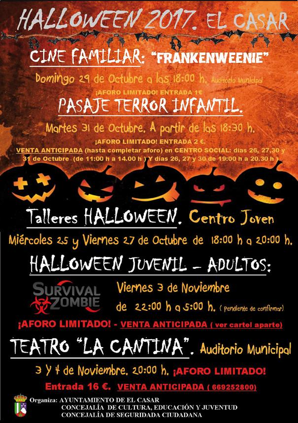 halloween El Casar 2017