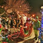 Talamanca de Jarama vivió con ilusión la llegada de Papá Noel