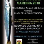 Entierro de la sardina 2018 en Valdetorres de Jarama