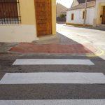 El Ayuntamiento de Fuente el Saz realiza trabajos de mejora en la accesibilidad en el casco urbano