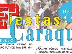 Fiestas de Caraquiz 2018, del 28 de julio al 5 de agosto