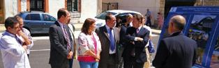 El presidente de Castilla-La Mancha visitó Uceda