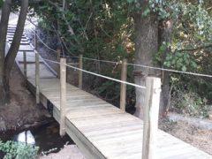Un nuevo puente para cruzar el Caz de Talamanca de Jarama