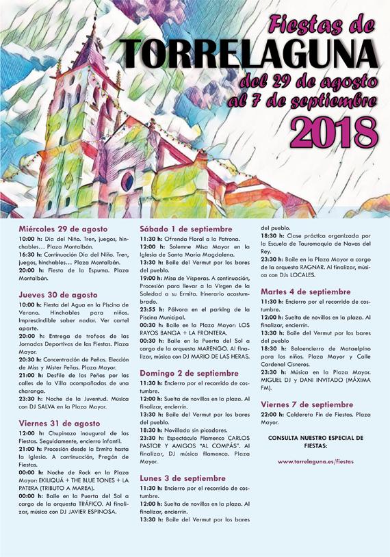 Fiestas de Torrelaguna 2018