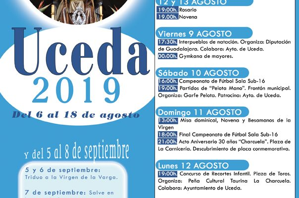 Fiestas de Uceda 2019