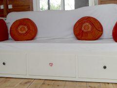 Vendo cama diván Hemnes de Ikea + 2 colchones