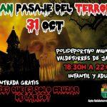 Halloween en Valdetorres de Jarama con su gran pasaje del terror y disco light