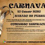 Carnavales 2020 El Casar, con concurso de disfraces