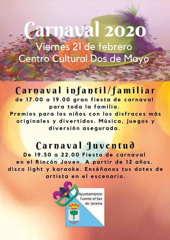 Carnavales de Fuente el Saz 2020