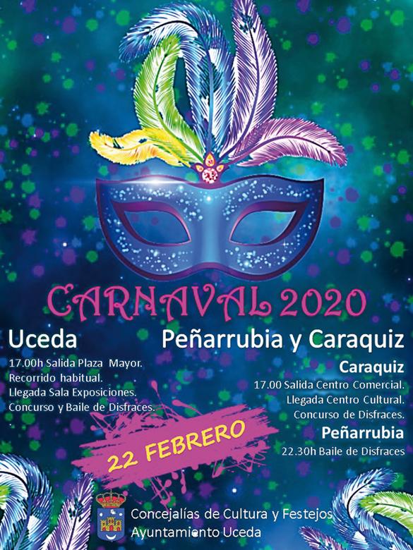 Carnavales de Uceda, Caraquiz y Peñarrubia 2020