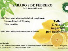 Talamanca de Jarama ofrece un taller gratuito sobre alimentación infantil y adolescente