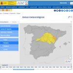 Aviso amarillo de AEMET por nevadas en toda la Comunidad de Madrid