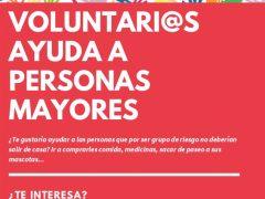 El Ayuntamiento de Talamanca ofrece la posibilidad de ser voluntario para ayudar a personas mayores