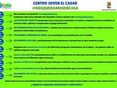 El Centro Joven de El Casar ofrece actividades diarias por las redes