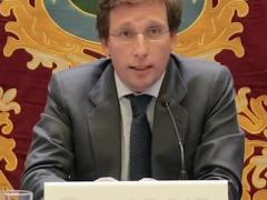 """El alcalde de Madrid, José Luis Martínez Almeida, pide a todos que se """"queden en casa"""""""