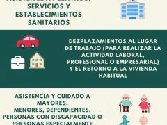 El Ayuntamiento de Talamanca de Jarama publica un díptico con lo que se puede o no hacer en el estado de alarma