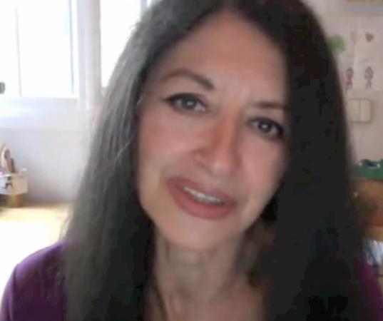Rosa de las Nieves, editoria de la revista La Plaza