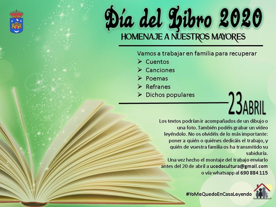 Uceda hará un homenaje a los mayores el Día del Libro a través de refranes o dichos populares de los mayores del municipio