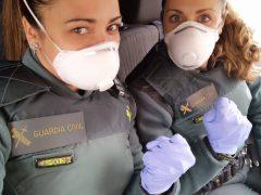 La Guardia Civil de Guadalajara nos envía continuos mensajes de ánimo a toda la población