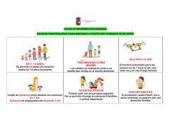 El Ayuntamiento de El Casar publica la normativa para la salida de niños a la calle