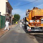 El Ayuntamiento de Valdetorres de Jarama sigue desinfectando sus calles y pide a sus vecinos que usen mascarillas y guantes