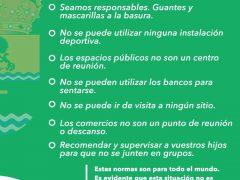 El Ayuntamiento de Valdetorres de Jarama pide a sus vecinos que respeten las normas al pasear y en los espacios públicos