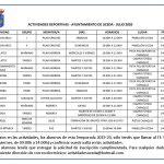 Comienzan las actividades deportivas de Uceda y Caraquiz