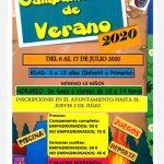 Campamento de verano en Valdepiélagos para la primera quincena de julio