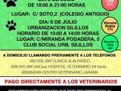 Campaña de vacunación antirrábica e identificación animal en Valdetorres de Jarama