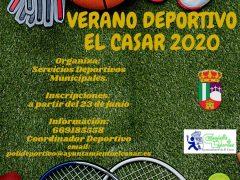 El Ayuntamiento de El Casar programa su «Verano Deportivo 2020» para julio y agosto