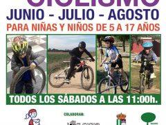 Comienzan las clases de la escuela infantil de ciclismo de El Casar