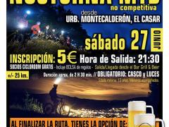 Marcha nocturna MTB El Casar el 27 de junio
