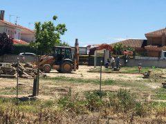 El Ayuntamiento de Fuente el Saz comienza las obras de mejora del parque canino
