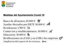 El Ayuntamiento de Valdetorres de Jarama lanza un primer paquete de ayudas económicas de más de 100.000 euros