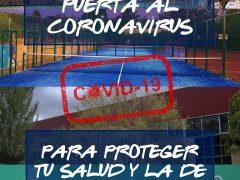Las instalaciones deportivas de Uceda permanecerán cerradas mientras dure el estado de alarma