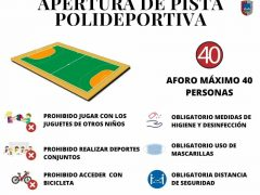 Valdepiélagos reabre sus pistas de pádel y polideportivas
