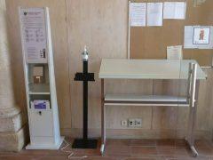 El Ayuntamiento de Talamanca de Jarama instala un total de seis torres sanitarias