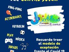 El Centro Joven de El Casar vuelve a abrir sus puertas bajo estrictas medidas por el Covid-19