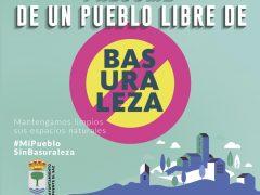 Fuente el Saz se suma a la campaña del Proyecto LIBERA: «Mi pueblo sin basura»
