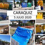 El Ayuntamiento de Uceda refuerza un punto de recogida de basuras en Caraquiz y pide civismo con los vertidos