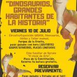 El Casar organiza una jornada familiar sobre: «Dinosaurios: grandes habitantes de la Historia»