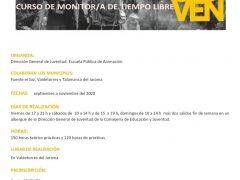 Valdetorres de Jarama, Talamanca y Fuente el Saz se unen para ofrecer el curso de «Monitor de tiempo libre»