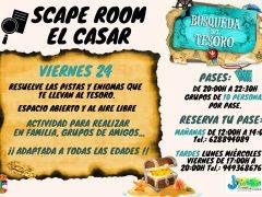El Casar organiza un 'escape room' para toda la familia, grupos de amigos o de forma individual
